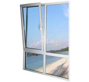 Double Glazing UPVC Window with Good Price (pH-6605) pictures & photos