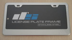 License Plate Holder (BXJ-L03B) pictures & photos