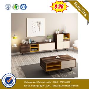 Hot Sale New Model Melamine Chipboard Home Furniture TV Stand pictures & photos