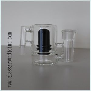 Glass Smoking Water Pipe with Ground Joint pictures & photos