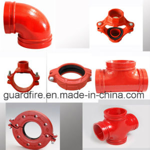 Ductile Iron Grooved Fitting Elbow, Tee, Coupling