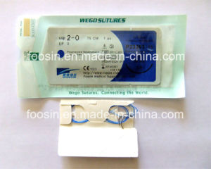 Polypropylene Surgical Sutures (single use) pictures & photos