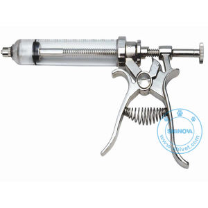 Vet Pistol Continuous Syringe (SY115) pictures & photos