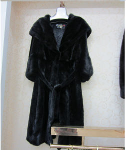 Natural Mink Fur Coats From China pictures & photos