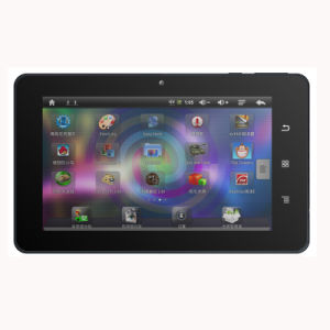 7′′ Allwinner A10+Built-in 3G (WCDMA or EVDO) +800*480+Bluetooth+Multi-Touch Capacitive Screen+Camera+WiFi