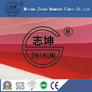 Different Red Colors PP Spunbond Nonwoven Fabric for Shopping Bags / Handbags pictures & photos