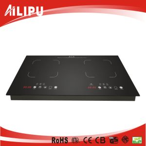2017 Simple Double Burners Built-in Induction Hob Model Sm-Dic09A pictures & photos