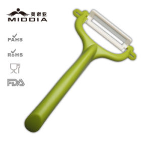 Kitchenware/Kitchen Gadget for Ceramic Peeler with Streight Handle pictures & photos