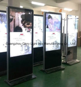 Hotel Floor Standing Advertising Digital Display pictures & photos