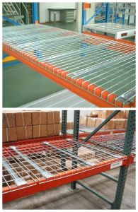 Galvanized Steel Wire Mesh Decking for Pallet Racking pictures & photos