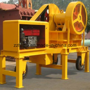 Mobile Jaw Crusher Plant Driven by Diesel Engine pictures & photos