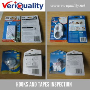 Hooks and Tapes Quality Control Inspection Service in Shanghai pictures & photos
