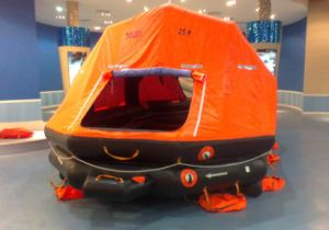 Khzd Type Self-Righting Davit Lunched Inflatable Life Raft pictures & photos
