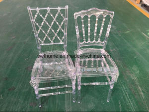 Cheap Clear Napoleon Chair for Wedding pictures & photos