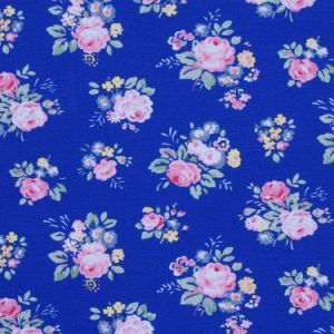 Posy Pattern Printed Cotton Fabric for Garment&Bags (C-K)