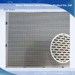 7.0 mm Round Hole Galvanized Perforated Sheet Metal Mesh pictures & photos