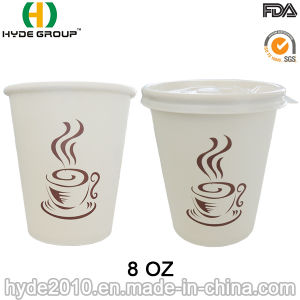 8oz Disposable Printed Paper Coffee Cup with Printing (8 oz-27) pictures & photos