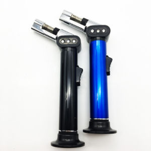 Refillable Slim Straight Jet Torch Multifunction Butane Gas Lighter (ES-TL-018) pictures & photos