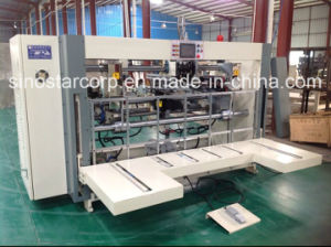 Double PCS Box Stitching Machine for Corrugated Box pictures & photos