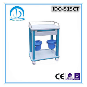 Ce ISO Approved ABS Dressing Trolley pictures & photos