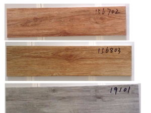 Digital Inkjet Wood Grain Series Ceramic Floor Tile pictures & photos