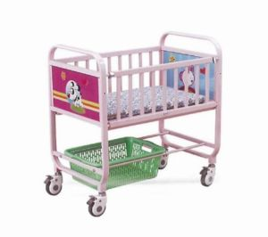 Moveable Hospital Infant Cot of Steel Painted Material (XH-F-2) pictures & photos
