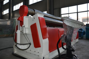 W12 4-Roller Plate Steel Rolling Machine, Hydraulic Roll Bending Machine pictures & photos
