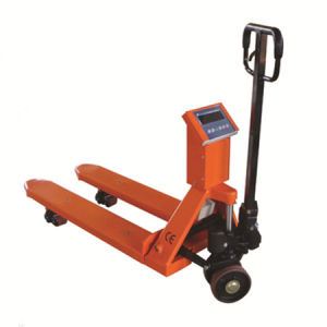 Pallet Truck with Scale pictures & photos