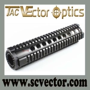 Vector Optics Tactical One Piece Rifle Style T-Series Free Float 10′′ Handguard Quad Rail pictures & photos