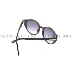 High Quality Round Frame Antique Acetate Sunglasses pictures & photos