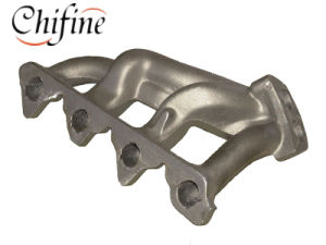 Stainless Steel Lost Wax Cast Exhaust Manifold for Auto Part pictures & photos
