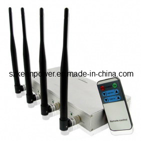 Cellphone Signal Jammer with Strength Remote Control - 10 Watt Output Power pictures & photos