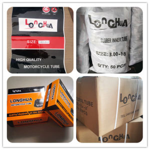 550% Elongation 12MPa Tensile Strength Motorcycle Inner Tube (4.10-18) pictures & photos