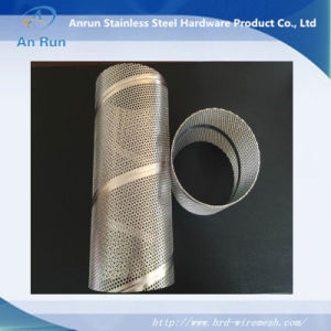Spiral Welded Perforated Metal Tube pictures & photos