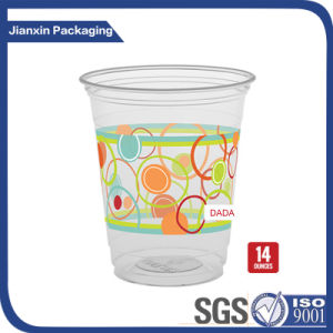 Disposable PP Plastic Drinking Juice Tea Cup pictures & photos