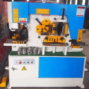 Hydraulic Iron Worker for Square Punching pictures & photos