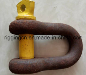 Dee Anchor Shackle for Industrial with Yellow Screw Pin in Grade S pictures & photos