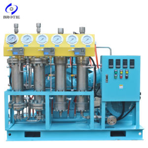Brotie High Pressure Ow-50-4-150 Totally Oil-Free Oxygen Compressor (50Nm3/h, 150bar) pictures & photos