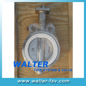 PTFE Seated Butterfly Valve of Ss Material pictures & photos