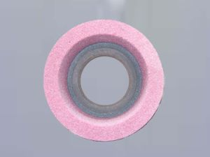 Pink Green and Brown Vitrified Ceramic Bond Straight Cup Wheels