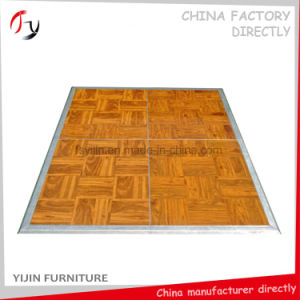 Durable Hots Sale White Painting Hotel Banquet Dancing Floor (DF-36) pictures & photos