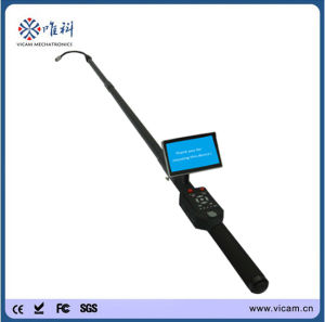 Vicam Telescopic Pole Under Vehicle Security System Pipe and Wall Inspection Camera pictures & photos