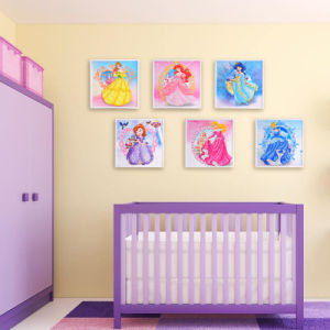 Factory Direct Wholesale Home Decoration Wall Art Children DIY Crystal Sticker T-105 pictures & photos