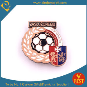 Sport Pin Badge with Soccer Logo in High Quality From China pictures & photos
