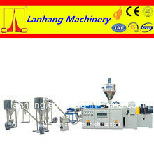 PVC Plastic WPC Compounding Pelletizing Granulator Line pictures & photos