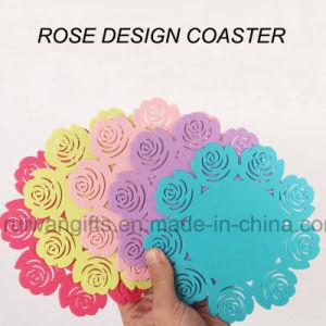 Rose Silicone Cup Coaster (csi044) pictures & photos