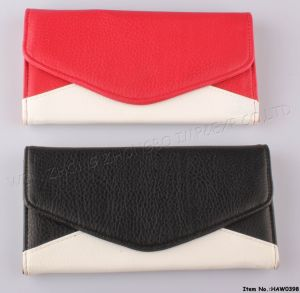2016 New Leather Wallet for Lady (HAW0397) pictures & photos