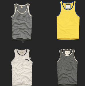 Promotional Embroidered Sports Sleeveless Vest pictures & photos