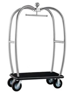Stainless Steel Luggage Cart (DF80) pictures & photos