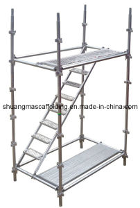 Hot DIP Galvanized Steel Ringlock Scaffold for Building & Construction pictures & photos